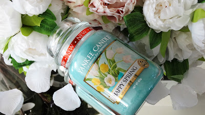 revue happy spring yankee candle bougie avis review test