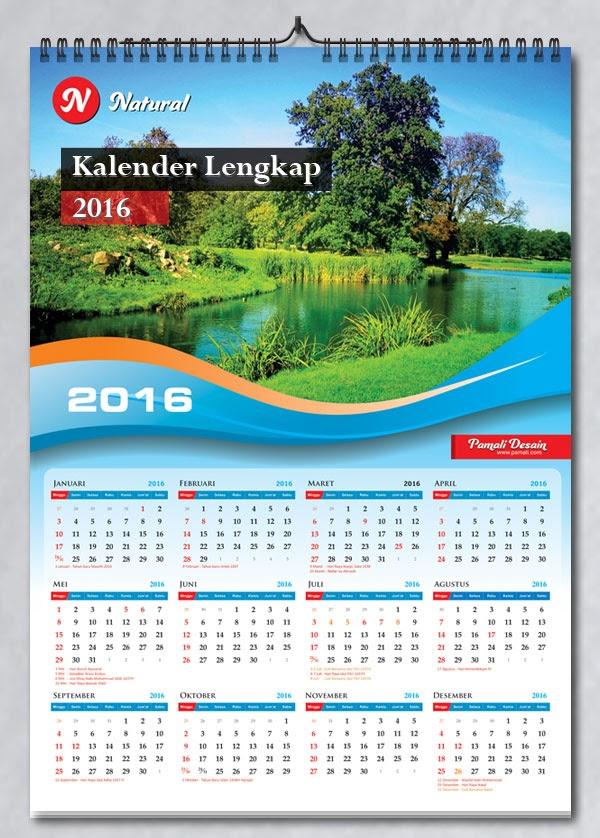 75+ Desain Kalender Elegan Cdr