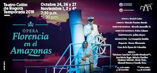 Teatro Colon presenta la opera FLORENCIA EN EL AMAZONAS