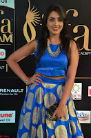 Madhu Shalini Looks Super Cute Slim trim Blue Choli Ghagra IIFA Utsavam Awards 003.JPG