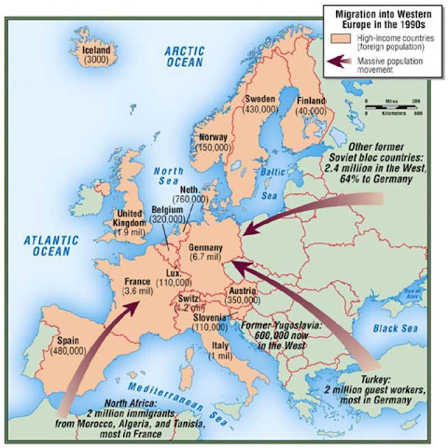 Expedition Earth Migration Into Western Europe