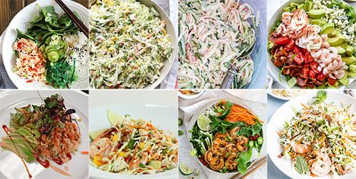 Crunchy Seafood Salad