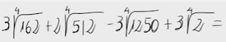 14.Suma y resta de radicales(distinto radicando,raices cuartas)