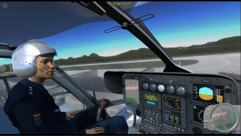 Police Helicopter Simulator pc full español