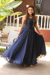 Telugu Anchor Jayanthi Stills in Blue Long Dress   (153).jpg