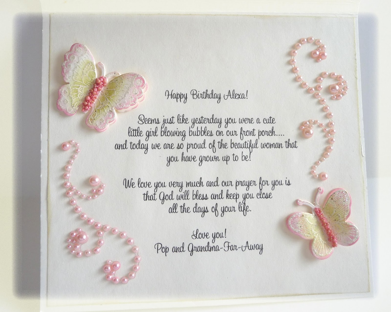 Things I Love Happy Birthday Alexa