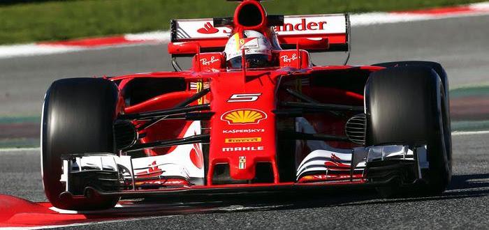 F1. Test Barcellona, giorno 7: Vettel mette tutti in fila con tempo record