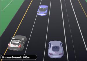 لعبة سيارات سريعه