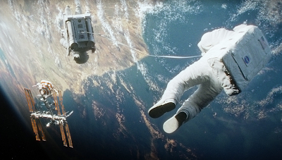 Gravity. All the rights are reserve to Warner Bros.