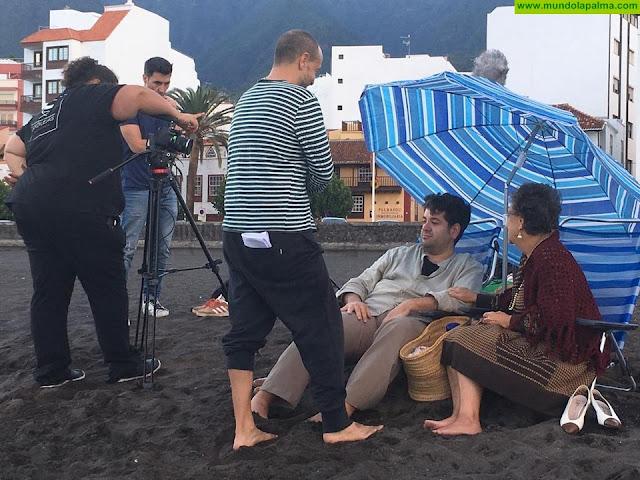 El director de cine Tommy Llorens rueda en La Palma su primer largometraje, ECOS
