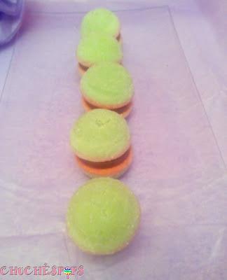 Mesa De Chuches: Macarons de chuches con chocolate