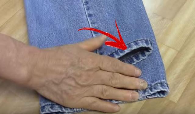 cum sa scurtam pantalonii fara a merge la croitor