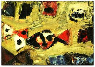 Iberê Camargo - Ascensão I (1973) - óleo sobre tela