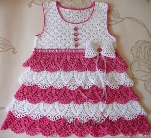 Perfect Crochet Dress with Ruffles – Step by Step