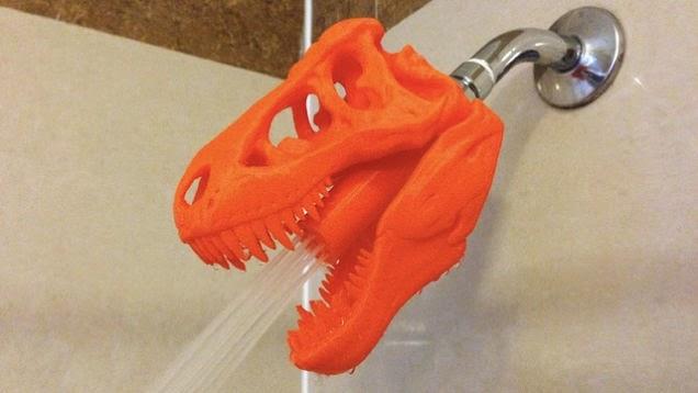 暴龍蓮蓬頭陪你洗澡,好嗎?