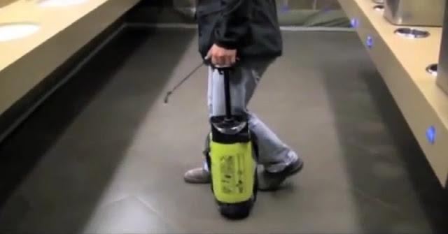 Non slip ceramic floor tile