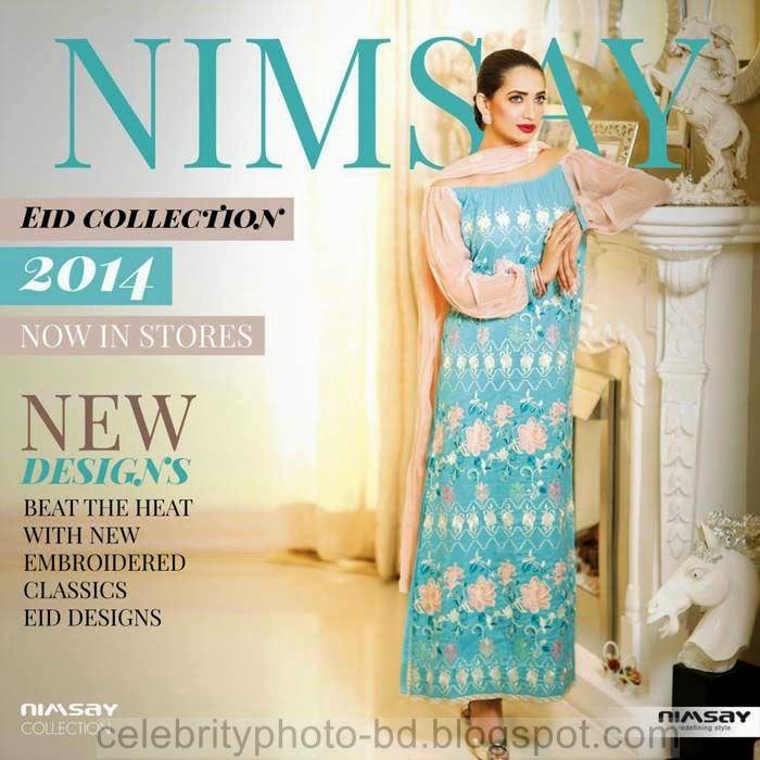 Nimsay Eid Dresses Collection 2014 For Stylish Women & Girls