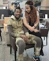 Asamoah Gyan allegedly dating Buju Banton's ex wife