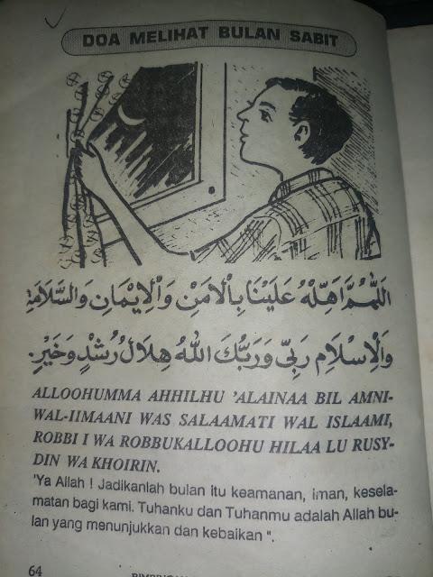 Doa Melihat Bulan Sabit