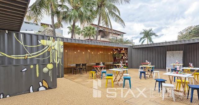Container Restaurant concept