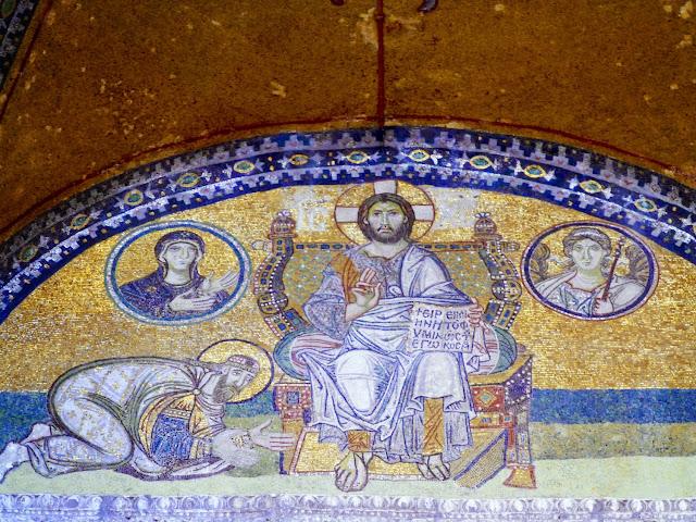 Santa Sofía, Mosaico de León VI
