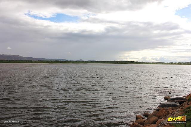 A view of Kamalapura Lake