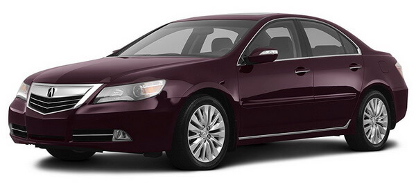 2012 Acura RL Prices, Reviews and Pictures