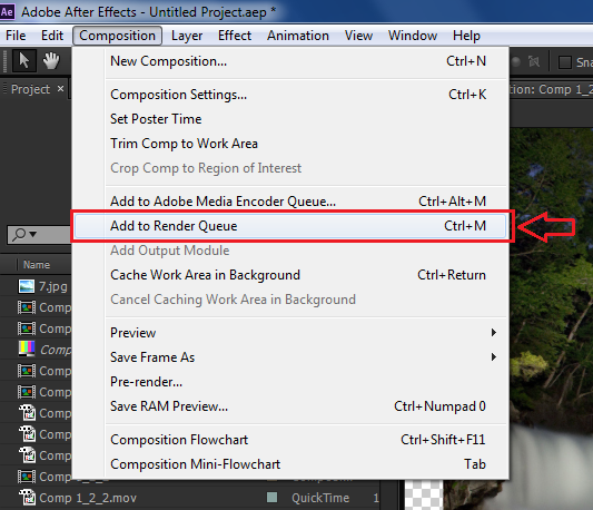 All Alpha channel Codec In Adobe After Effects CC   CMP