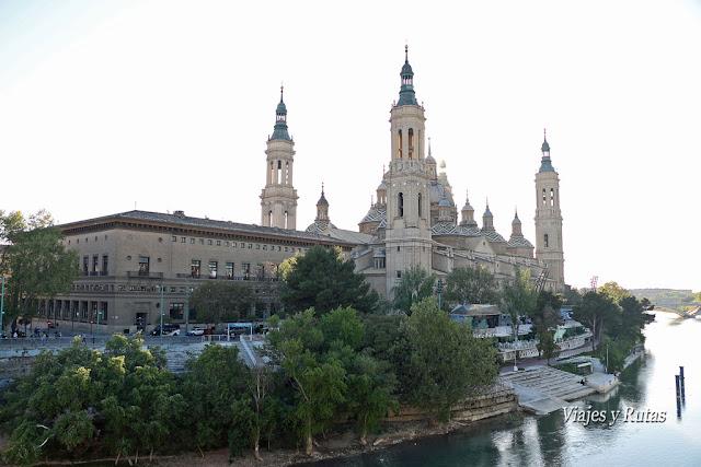 Vista del Pilar de Zaragoza