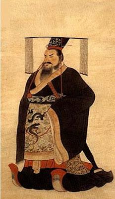 Kaisar Qin Shi Huang dari Dinasti Qin