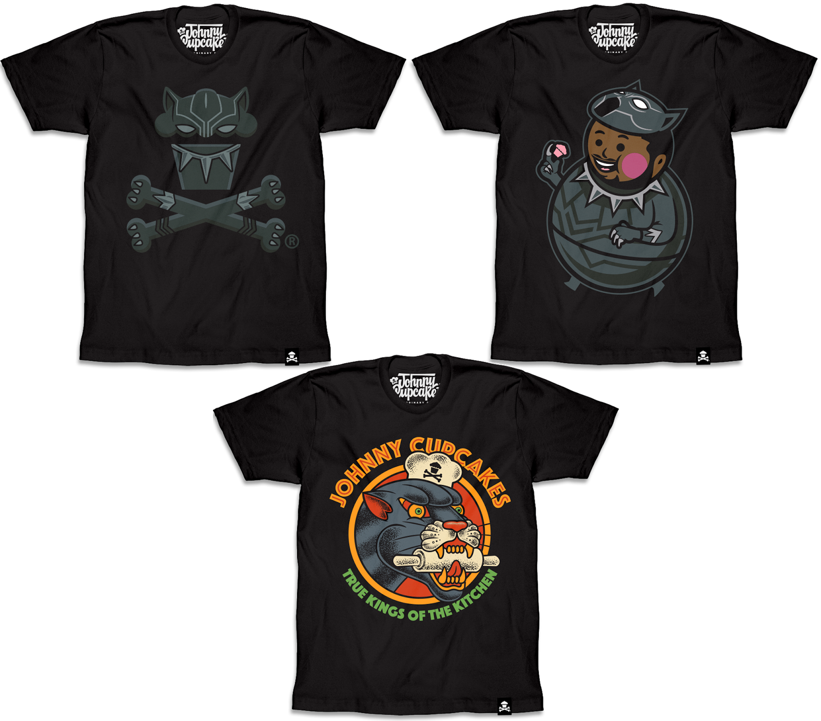e55e15a5e The Blot Says...: Marvel's Black Panther T-Shirt Collection by ...
