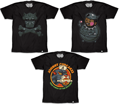 Marvel's Black Panther T-Shirt Collection by Johnny Cupcakes