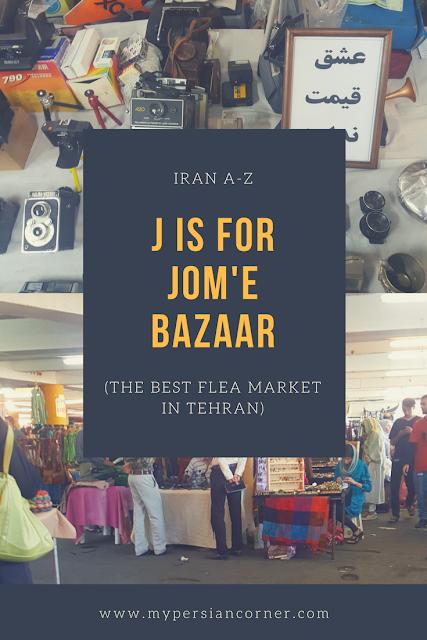 Jome Bazaar Parvaneh   Tehran   Iran   Flea Market