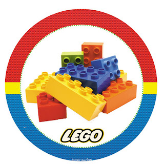 Universal image in free printable lego labels
