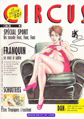 Franquin ce met à table
