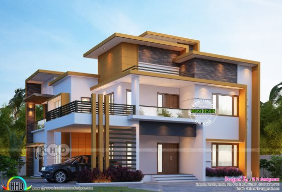 Modern contemporary 4 bedroom house 3380 sq-ft