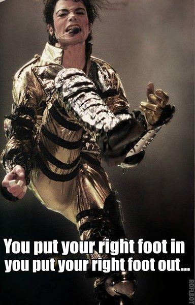 Michael Jackson Hokey Pokey Meme