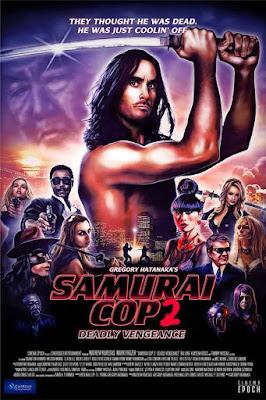 Samurai Cop 2 Deadly Vengeance 2015 DVD R1 NTSC Sub