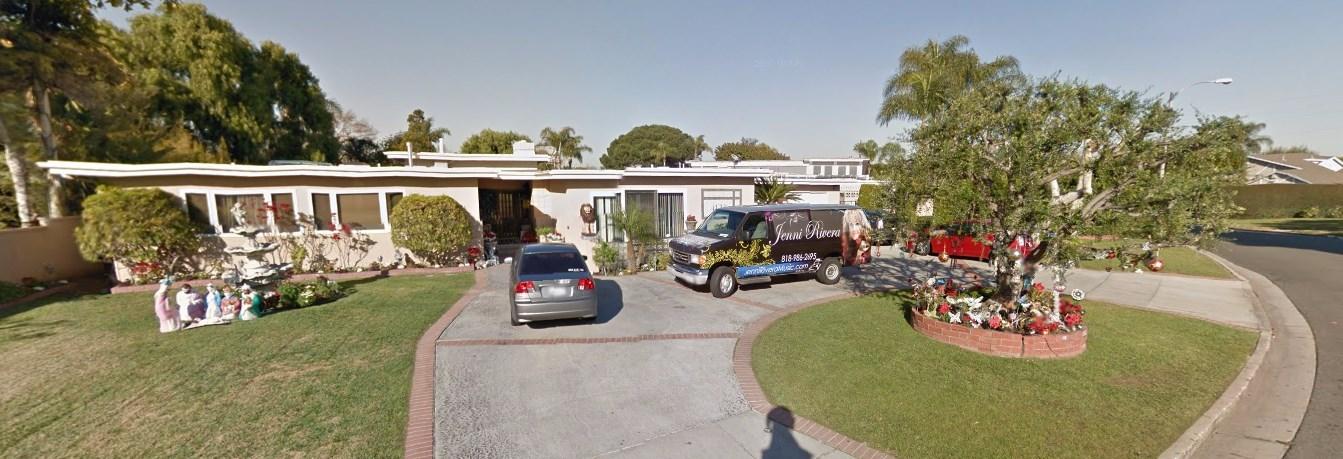 Jenni rivera house address in lakewood