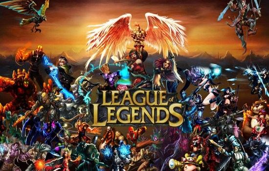 1. لعبة League of legends