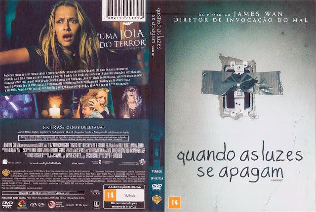 Capa DVD Quando As Luzes Se Apagam