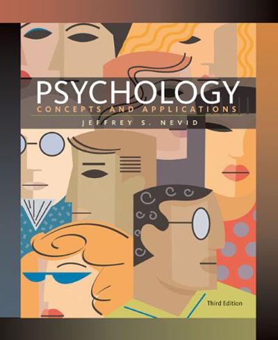 Tâm lý học, Các khái niệm và Ứng dụng 3e