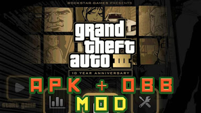 Grand Theft Auto 3 APK + OBB + Mod Free Download (Full Version)