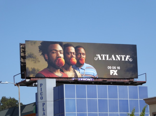Atlanta series launch billboard