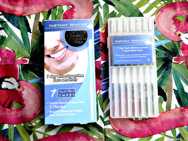 BEAUTY: INSTANT WHITES 7 DAY TEETH WHITENING SYSTEM