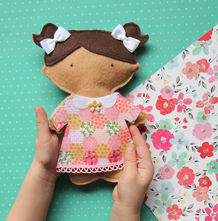 It is a photo of Shocking Free Printable Felt Doll Patterns