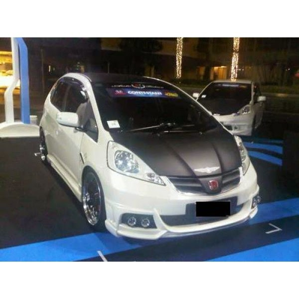 Full Bumper Honda Jazz RS 2008-2011 Black Bison