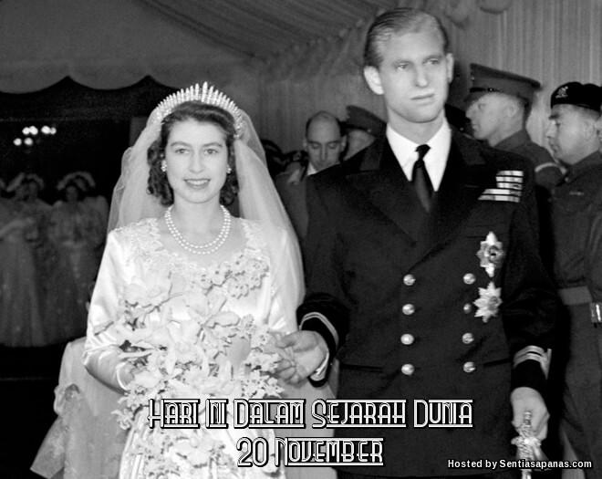 Peristiwa Penting Hari Ini Dalam Sejarah Dunia (20 November)