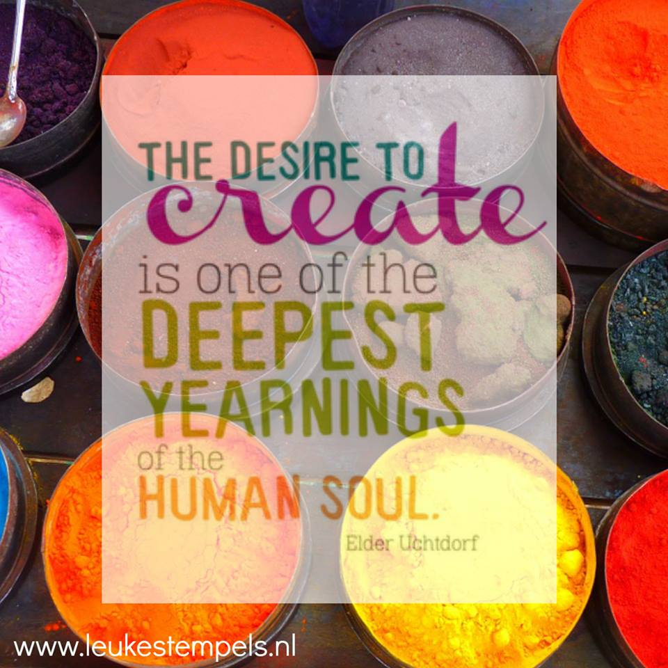the desire to create....