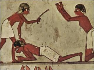عقوبة جدع الانف وصلم الاذن فى مصر القديمة